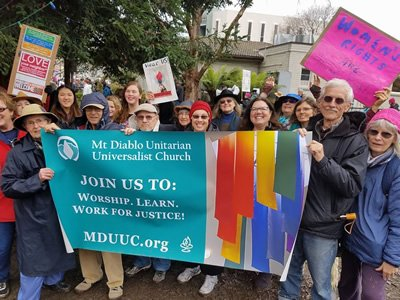 MDUUC is recognized in Contra Costa County as the ones 'who show up.'